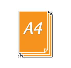 Impression d'affiches A4