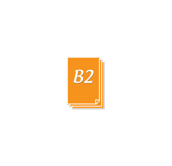 Impression d'affiches B2